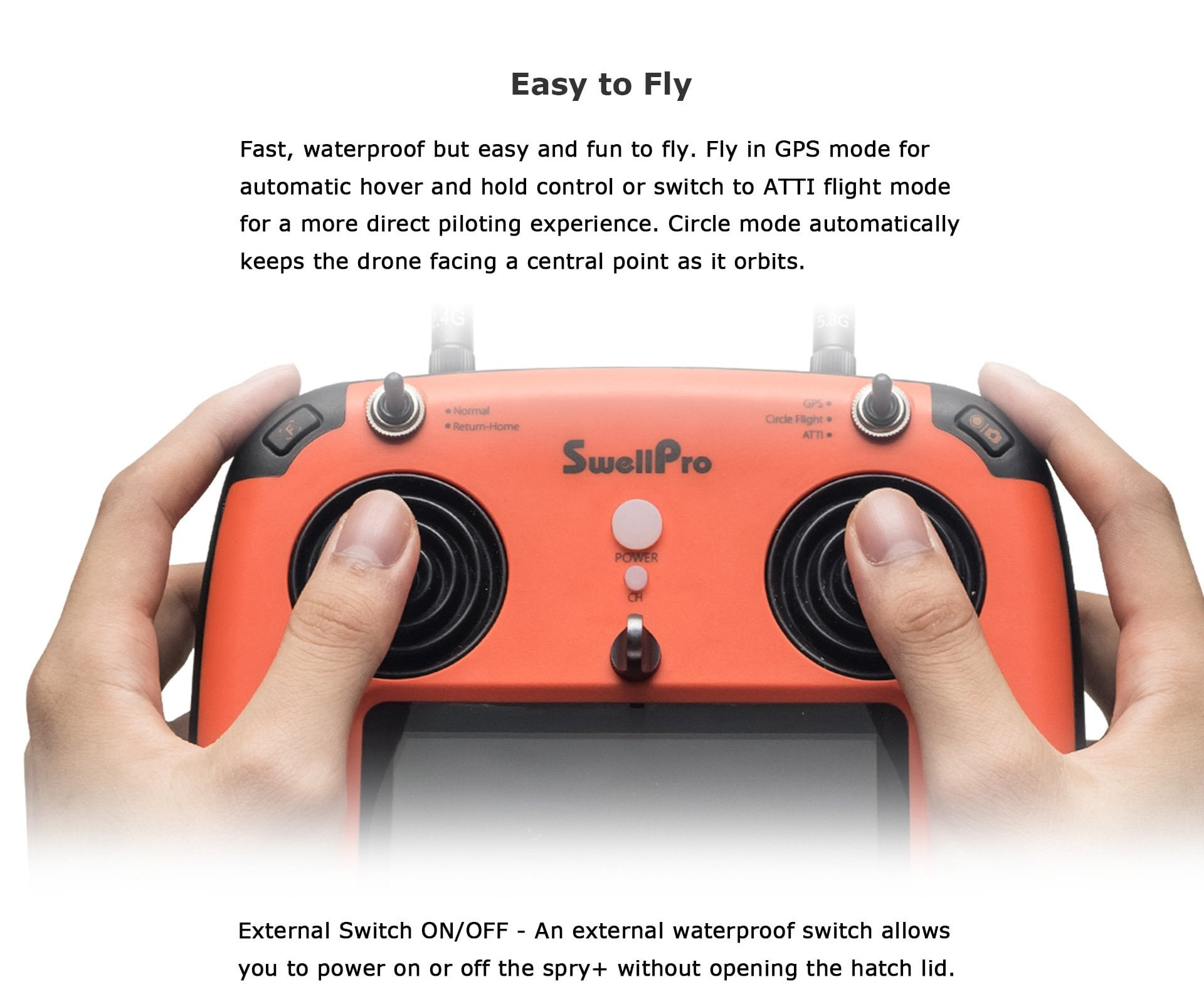 SwellPro - Spry+ an Easy to Fligh Drone