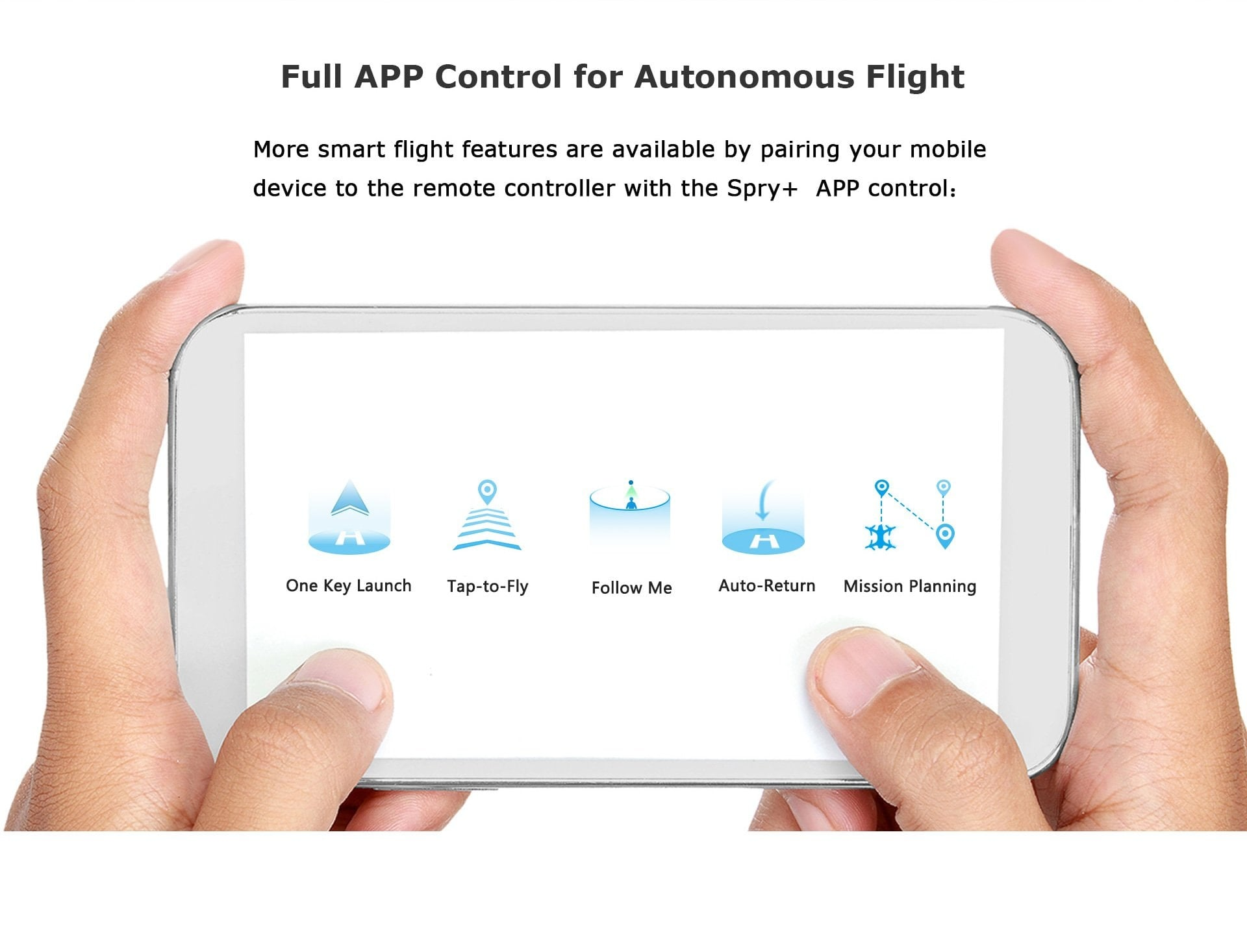 SwellPro - Spry+ Full APP Control
