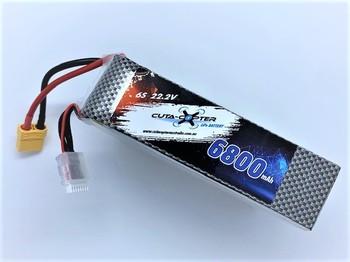 Cuta-Copter TRIDENT 6800mAh 22.2V LiPo Battery