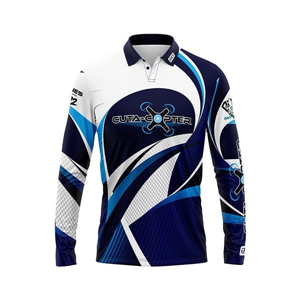 Cuta Copter Sublimated Shirt Front