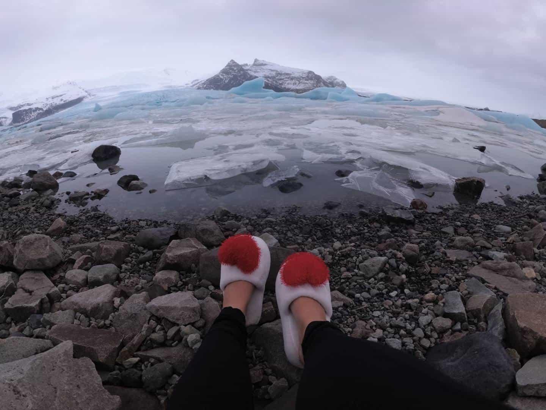 O que fazer na Islândia - Glacial Fjallsárlón