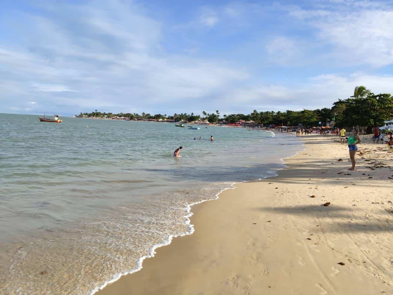 Praia de Coroa Vermelha na Bahia