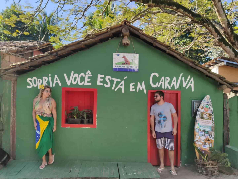 Caraíva onde fica