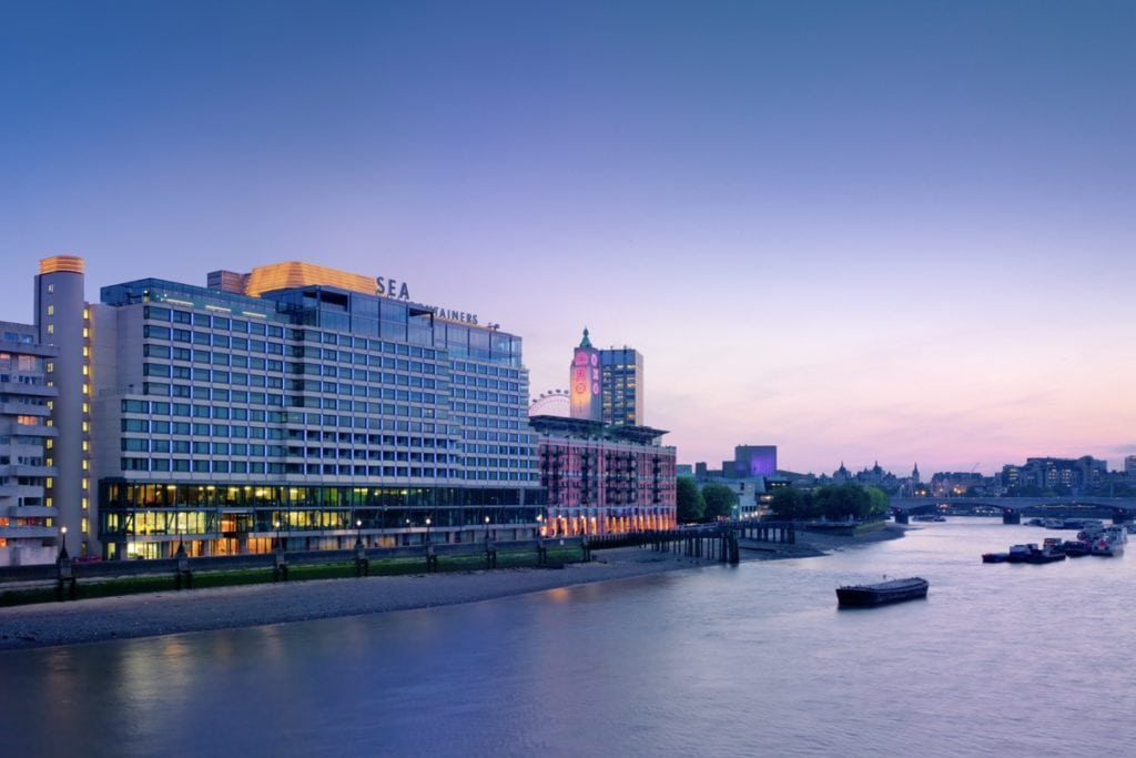 London hotel staycation
