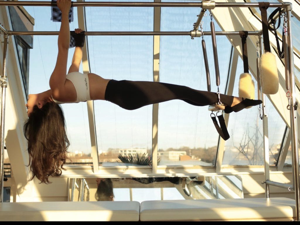 The sky's the limit at Pilates in the clouds