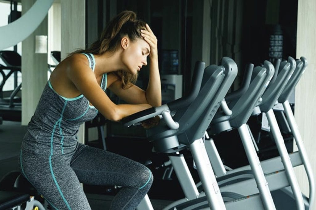 How does stress affect your workout