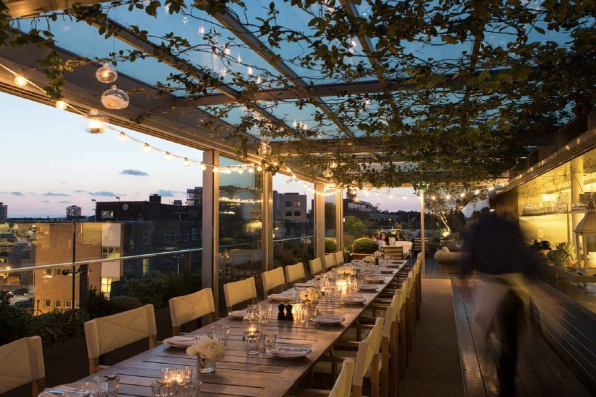 Rooftop bars in Shoreditch