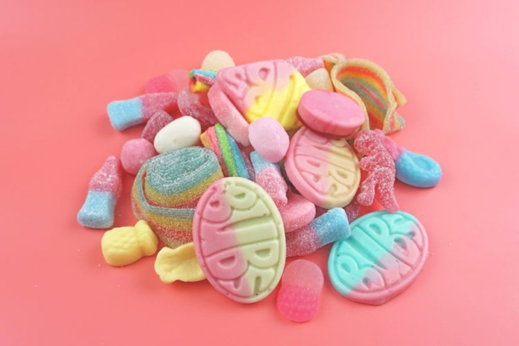 best vegan sweets conscious candy co pink