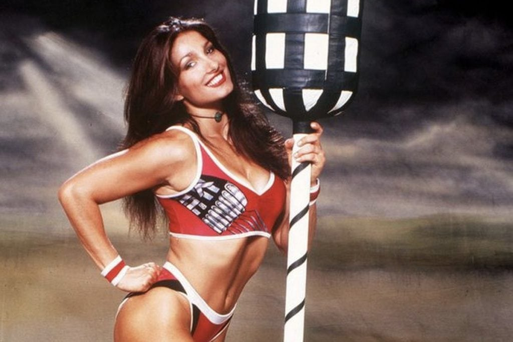 """Meet Diane Youdale otherwise known as """"Jet"""" from Gladiators"""
