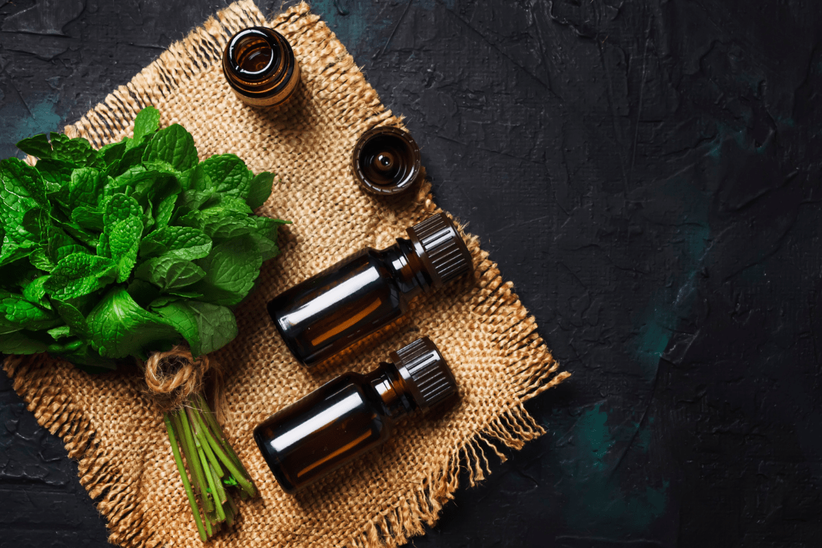 peppermint essential oil aromatherapy