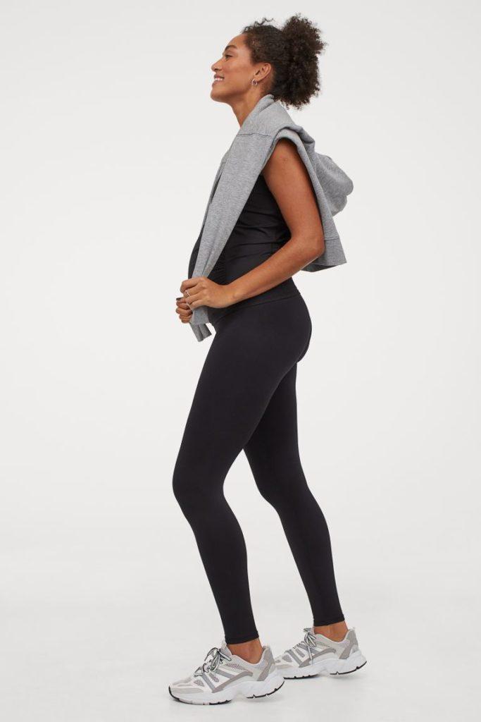 H&M Mama maternity gym leggings