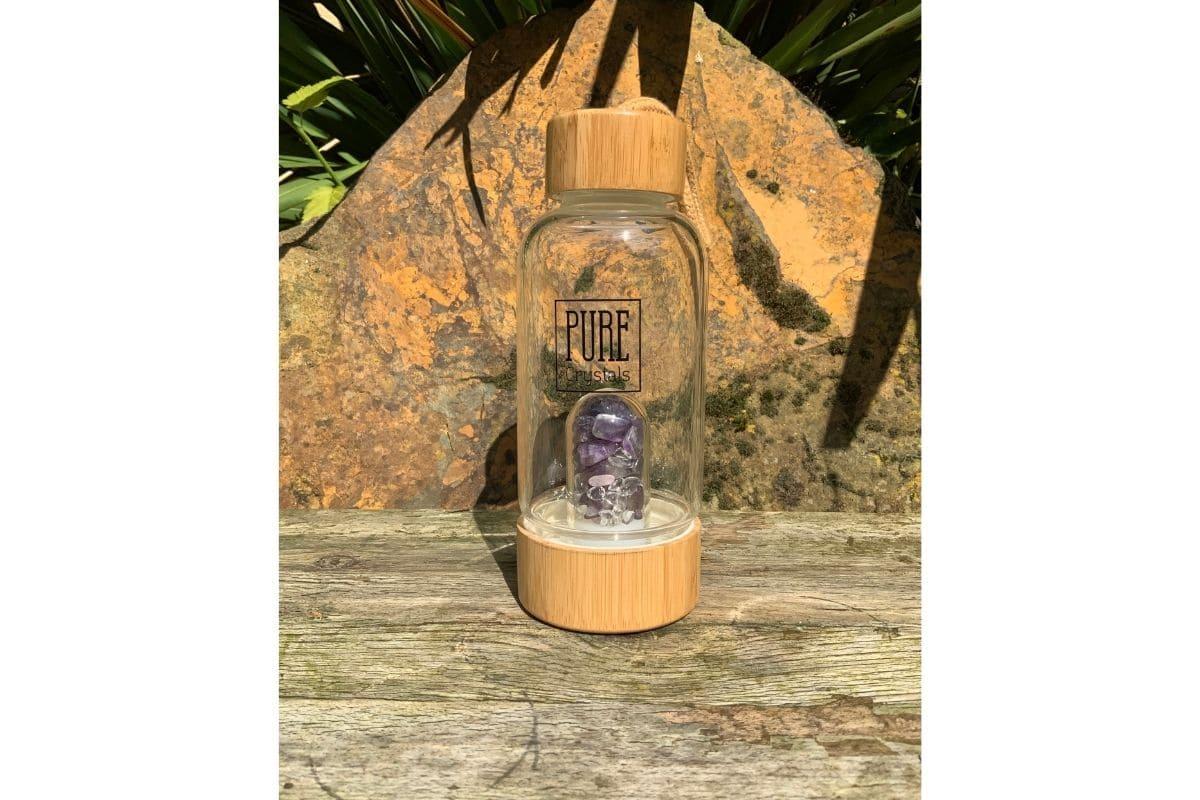 Crystal water bottle