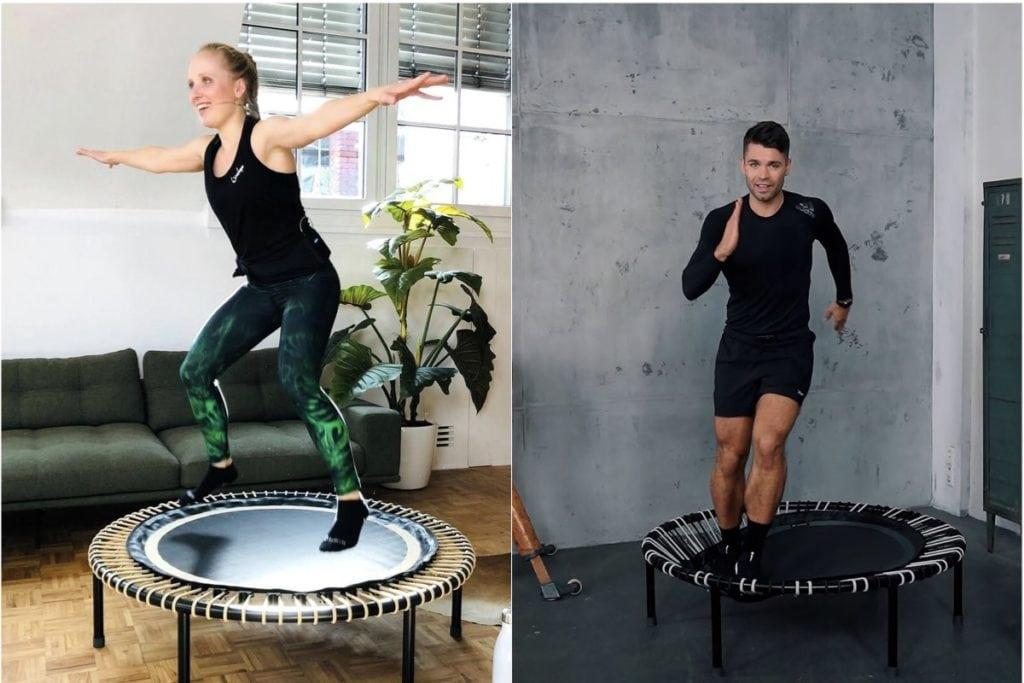 is a bouncing workout better than running