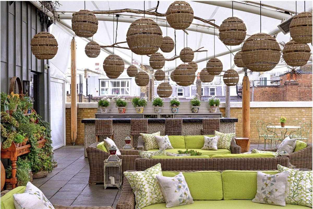Rooftop Bars In Central London - Hamyard