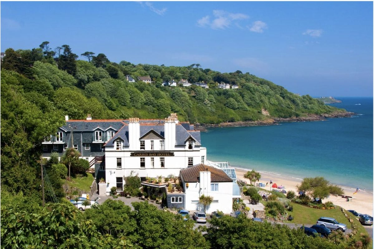 Hotels In Devon And Cornwall - Carbis Bay