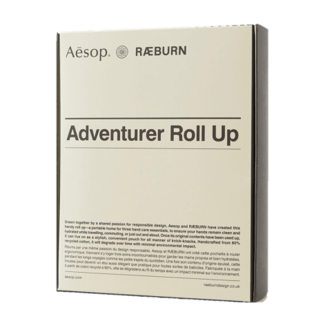 Aesop Adventurer rollup