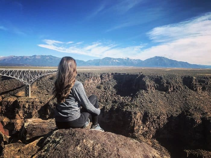 Hiking in Taos, New Mexico