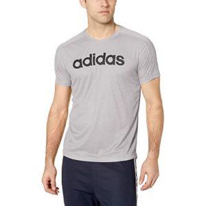 Camiseta Hombre Adidas Move Linear Logo Heather Grey | Original