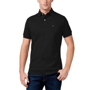 Polo Hombre Tommy Hilfiger Classic Fit Ivy Tommy Black | Original