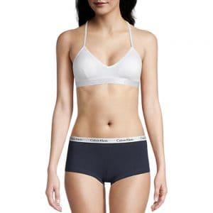 Bralette Mujer Calvin Klein Motive Lightly Lined White | Original
