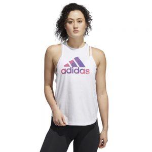 Camiseta Mujer Adidas Univ Vol Tank Top White | Original