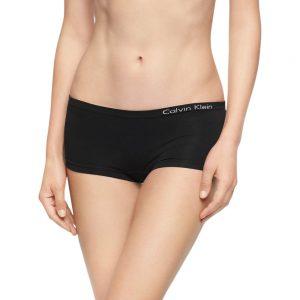 Panty Mujer Calvin Klein Pure Seamless Hipster Black | Original