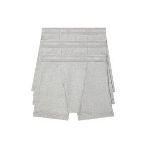 Pack 3 Boxer Hombre Calvin Klein Brief Cotton Stretch Grey | Original