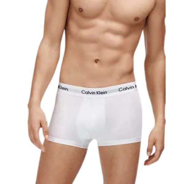 Pack 2 Bóxer Hombre Calvin Klein Trunk White   Original