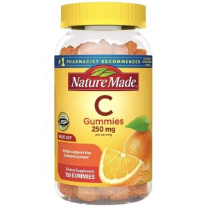Gomas Vitamina C Nature Made 250 mg | 150 Cápsulas