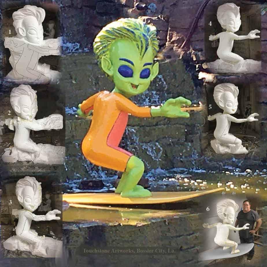 Alien Surfer Dude