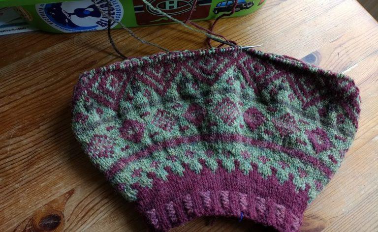 Knitting New Circles