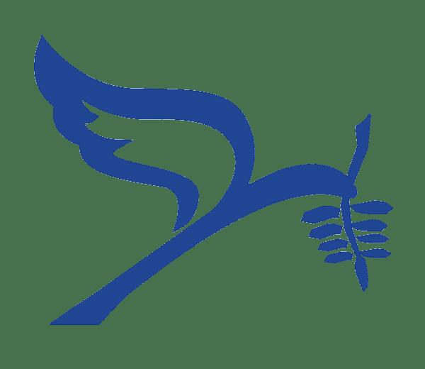 Christian Courier dove symbol