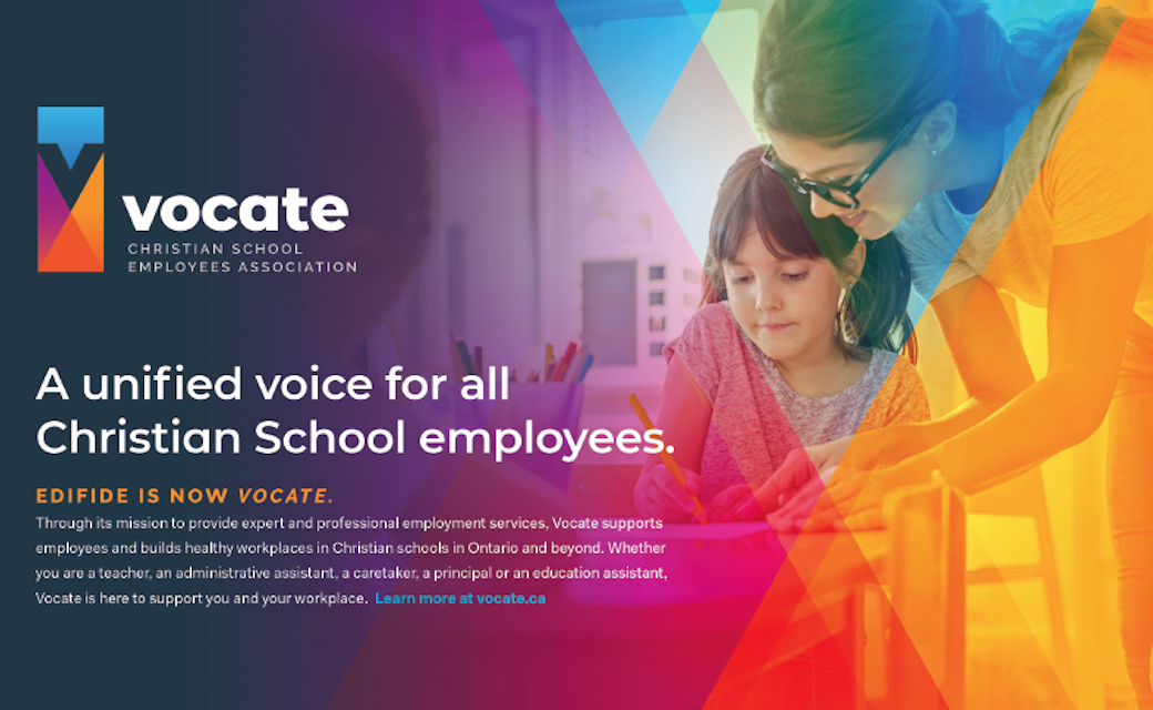 A united voice for all Christian School employees
