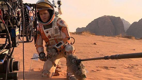 Serious and funny hope for earth from Mars