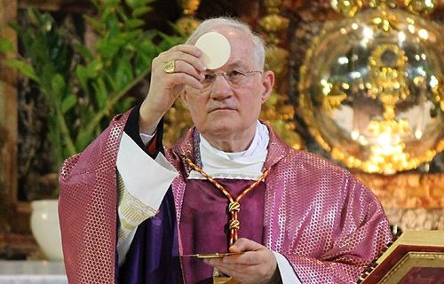 Celebrating mass as a Catholic