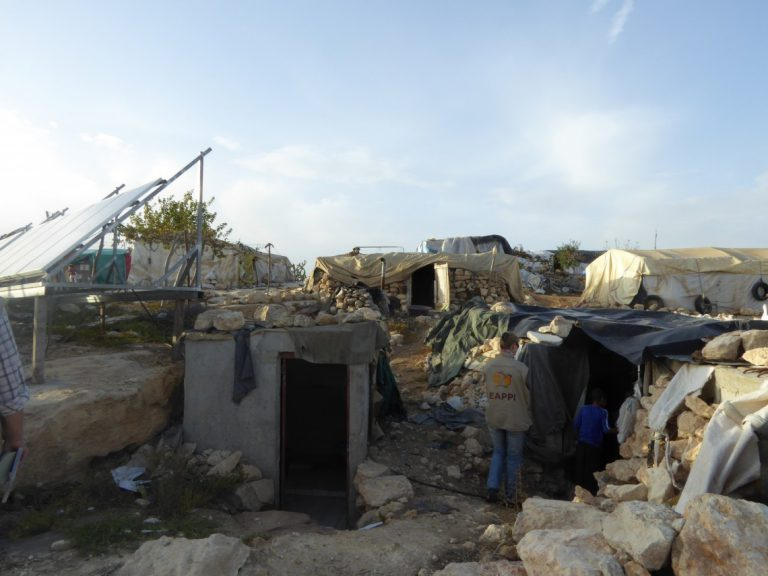 In the West Bank: A fight for survival