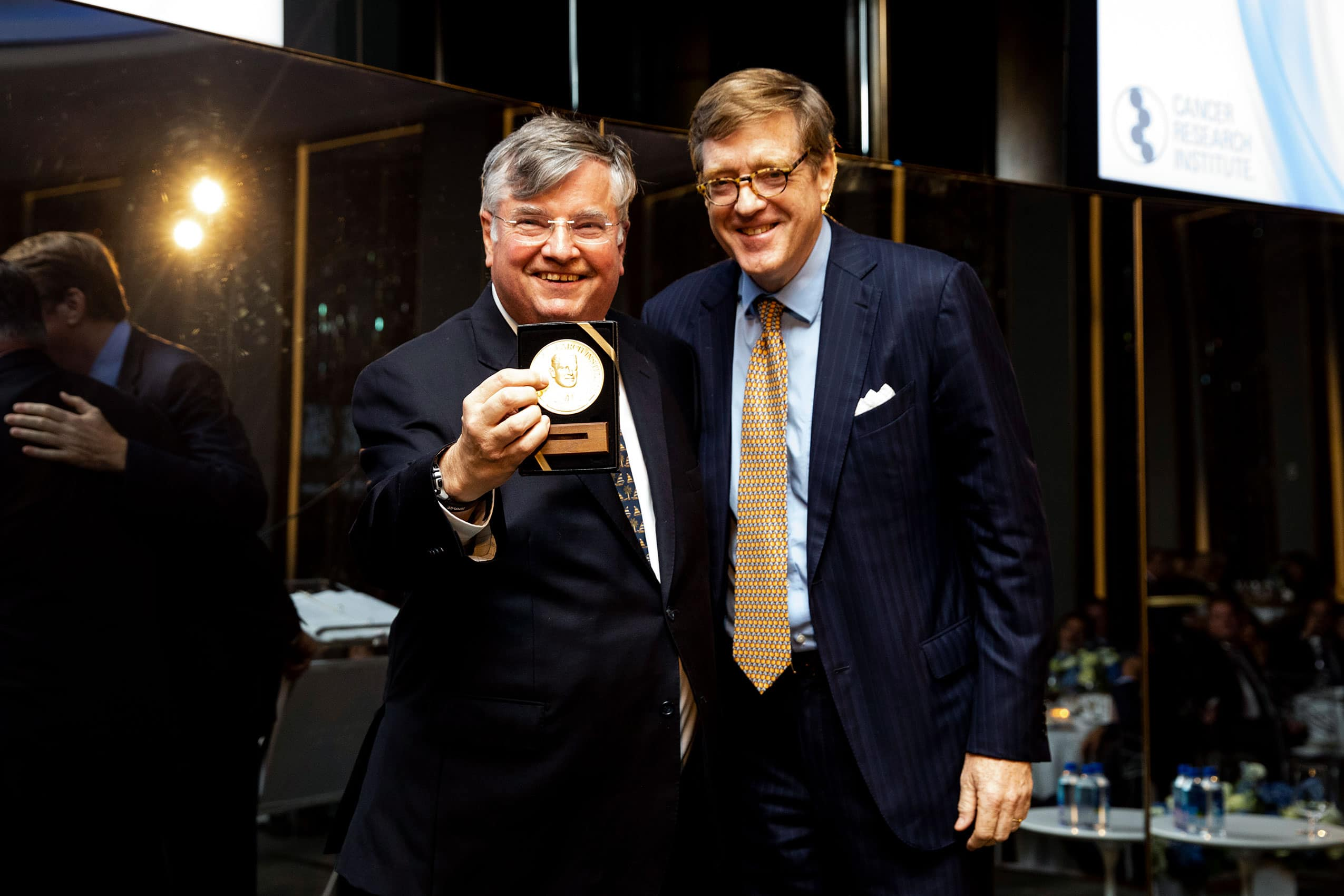 Oliver R. Grace, Jr. and Paul Shiverick