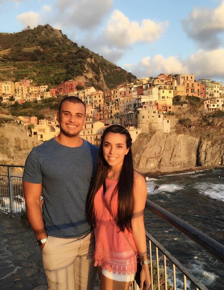 Sam and Alyssa at Cinque Terre