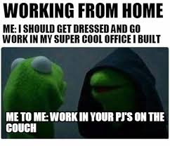 work at home memes