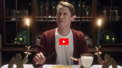 google home – home alone video – products in video