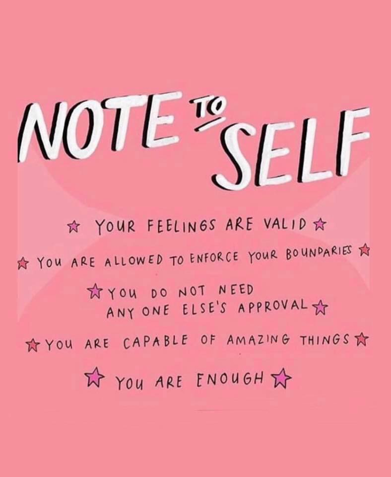 monday reminder that you are enough