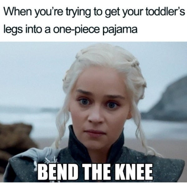bend the knee mom