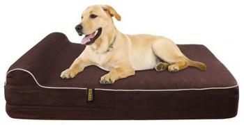 Kopeks Extra Large Headrest Dog Bed Review