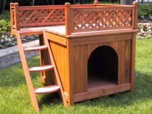 Merry-Products-Wood Dog House Review