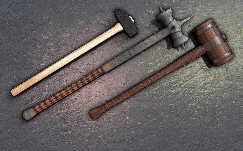Waffenkunde 7: Hammer, Keule, Kolben