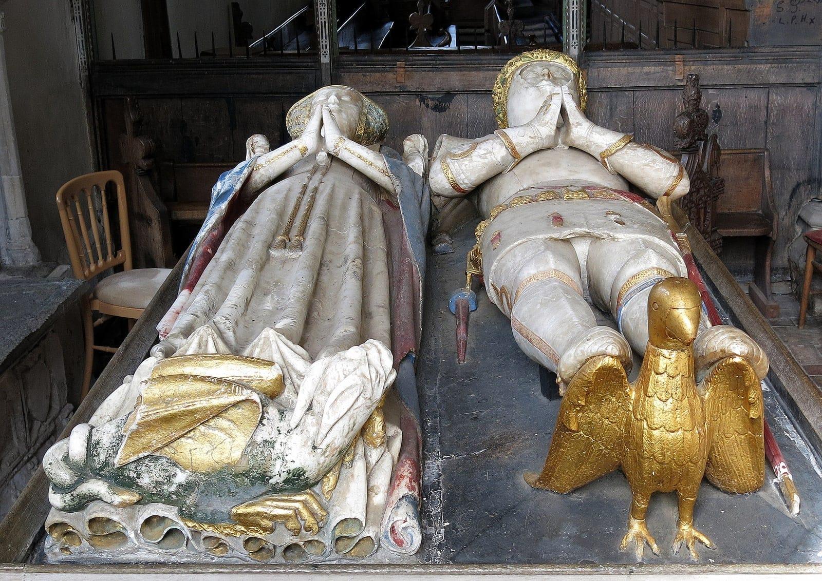 Grab von Lord und Lady Bardolph