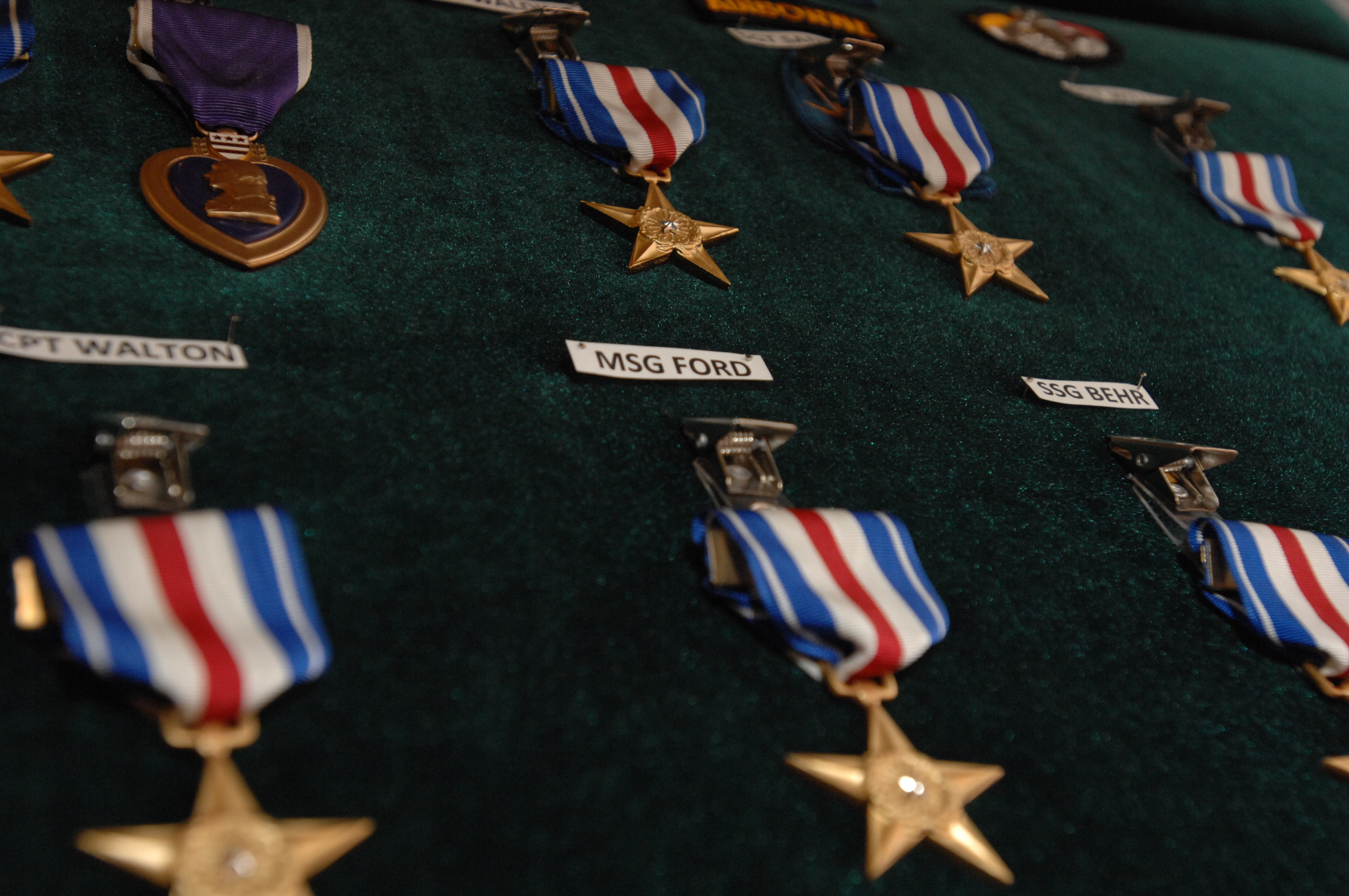 Silver Star Medals