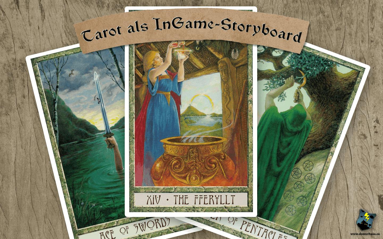 Tarotkarten als InGame-Storyboard