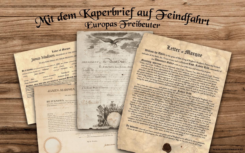 Mit dem Kaperbrief auf Feindfahrt: Europas Freibeuter – Geschichtskrümel 57