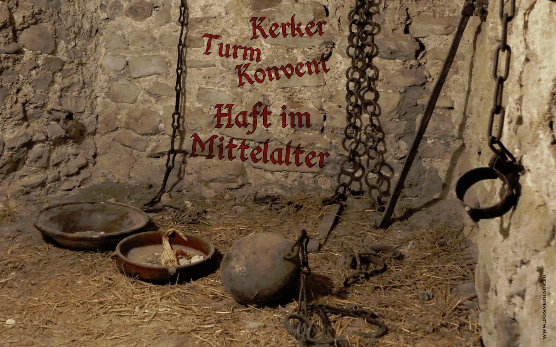 Kerker, Turm, Konvent – Haft im Mittelalter – Geschichtskrümel 59